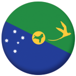 Christmas Island Flag 25mm Pin Button Badge